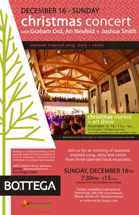 Bottega Christmas Concert
