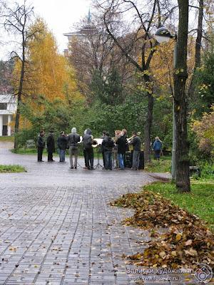 Духовой оркестр на Черном озере