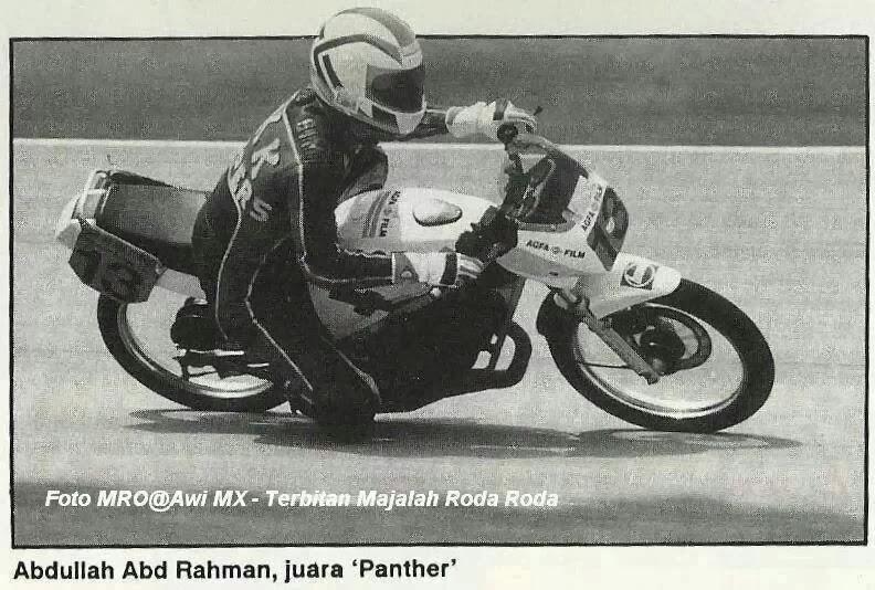 Rider Suzuki Panther