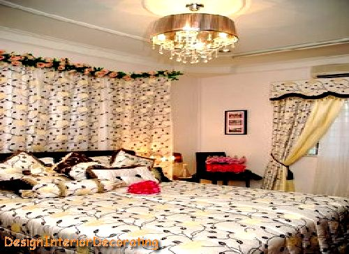 Bedroom styles wedding styles for Asian wedding bed decoration ideas