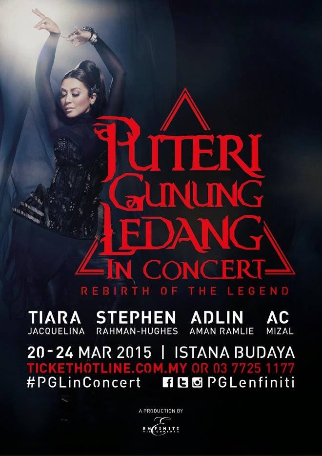 Puteri Gunung Ledang PGLinConcert Konsert Reunion Istana Budaya