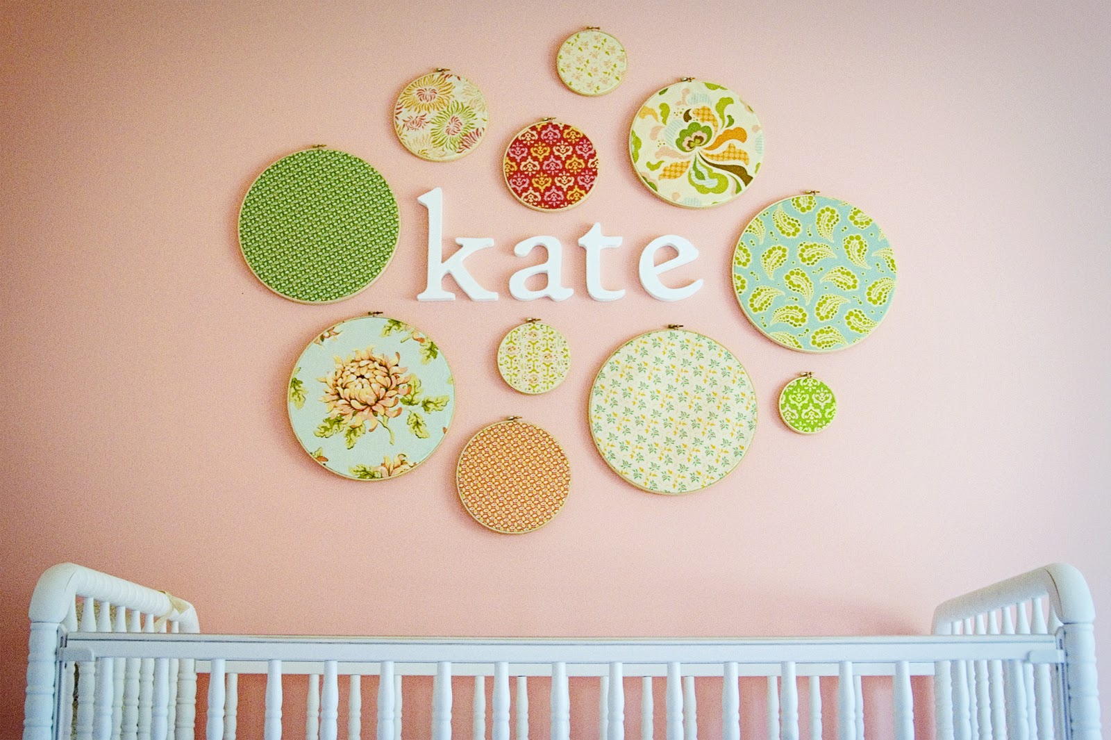 Aedriel: DIY Nursery Wall