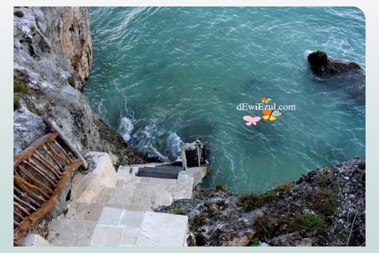 private beach  Amatoa Resort tanjung bira