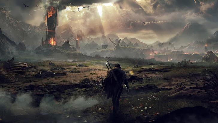 Talion Mordor Landscape