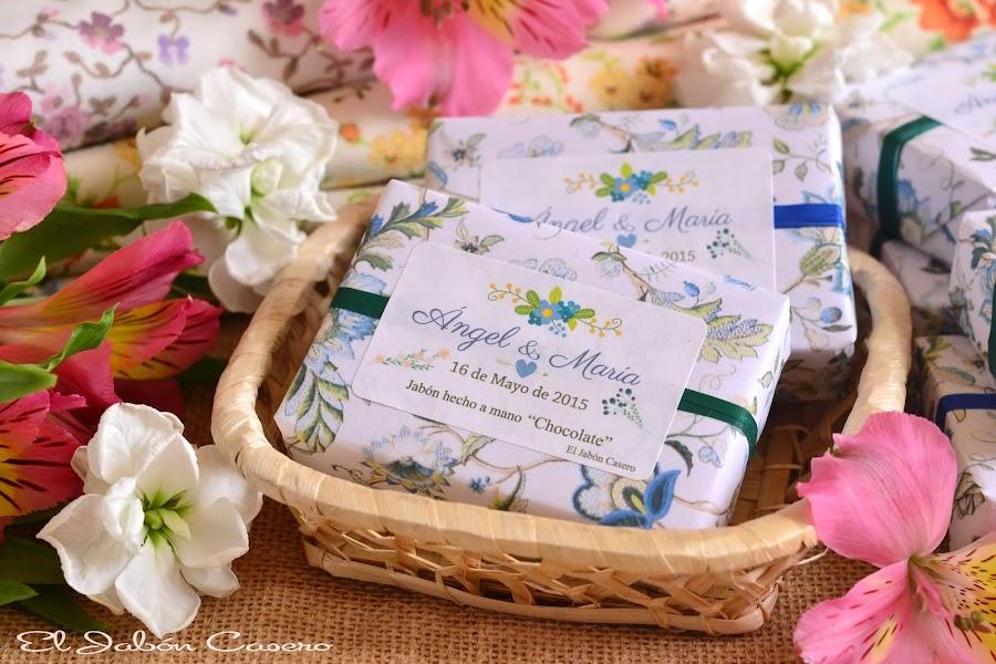 bodas en azul detalles de invitados