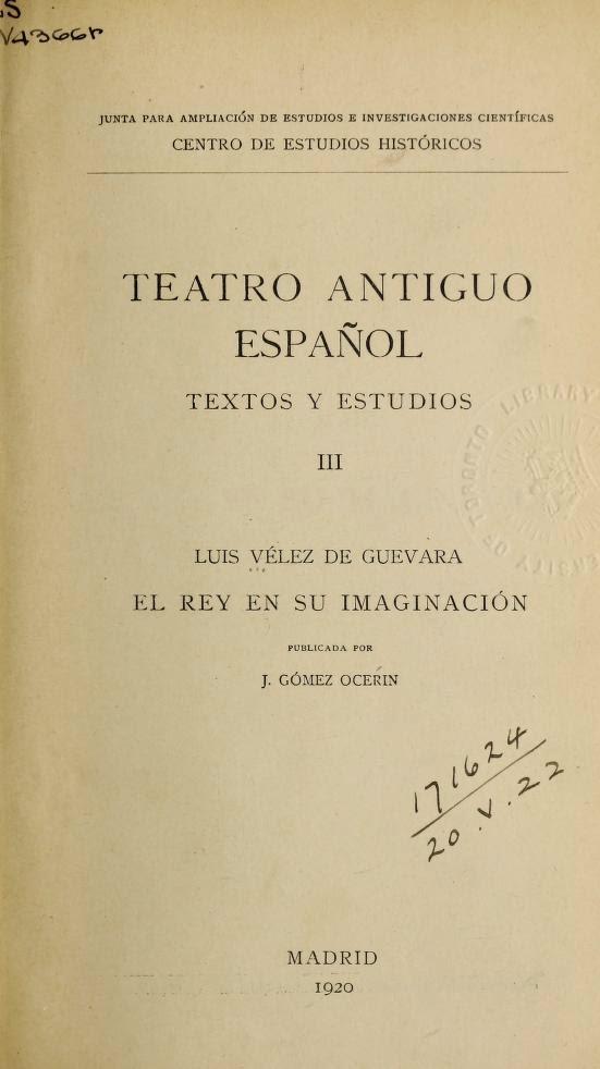 Teatro Antiguo Español III