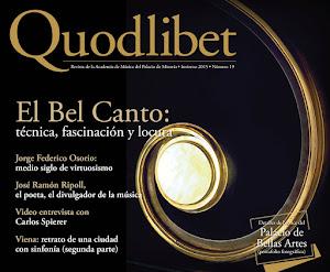 Quodlibet, Invierno 2015-2016
