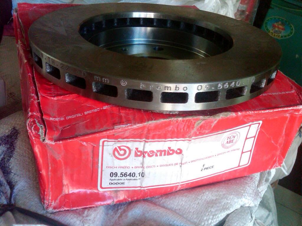 Brake Disc Mitsubishi LANCER EVO 3-7, ETERNA (E32A, E33A, E38A) GALANT V6 2.5 (09.5640.10)