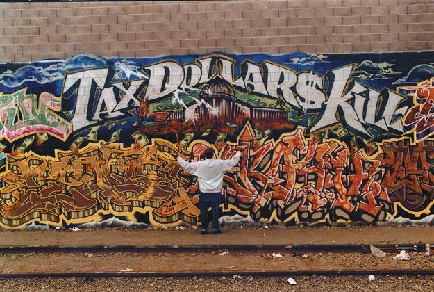 'Tax Dollars Kill' by Mike 'Dream' Francisco