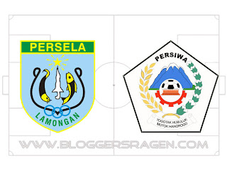 Pertandingan Persela vs Persiwa Wamena