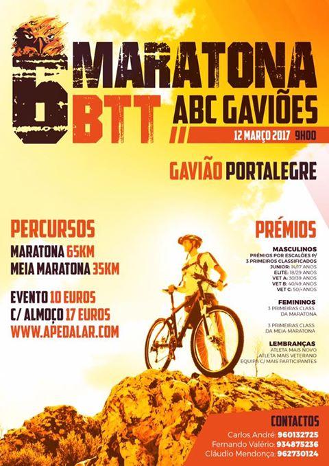 6ª MARATONA BTT ABC GAVIÔES