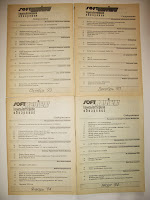 СОДЕРЖАНИЕ 4-х выпущенных номеров журнала «SoftREVIEW/Компьютерное обозрение» 1993/1994 годы