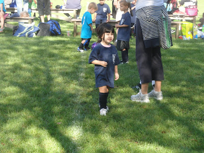Why yes, That was my Hysterical Child on the Soccer Field!