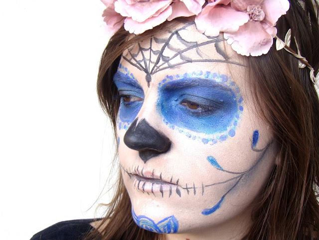 Maquillage Halloween: Calavera