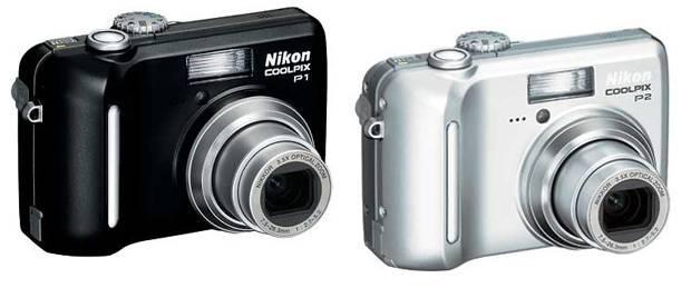 Nikon P1 e P2