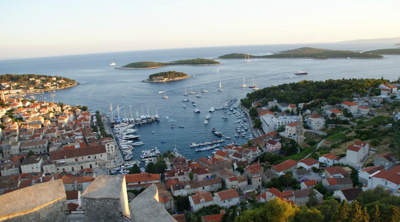 Ilha Hvar turismo foto
