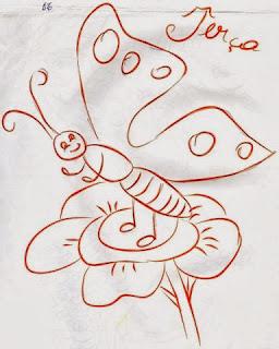 desenho da semaninha da borboleta terça feira