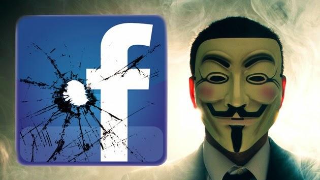 El fin de Facebook, según Anonymous
