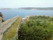 Les murs du château