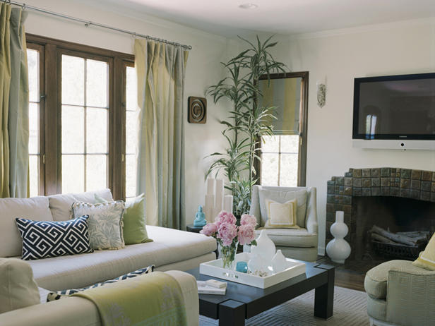 2012 living room design styles from hgtv modern