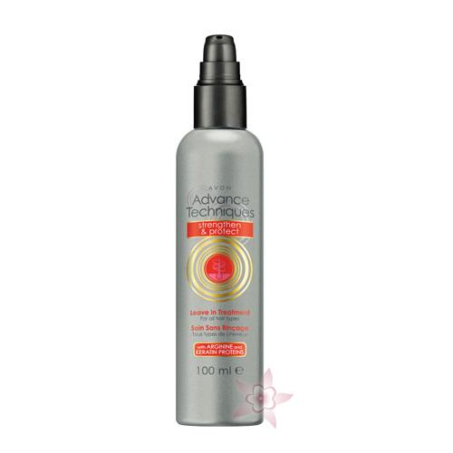 avon advance güçlendirici koruyucu durulanmayan saç kremi