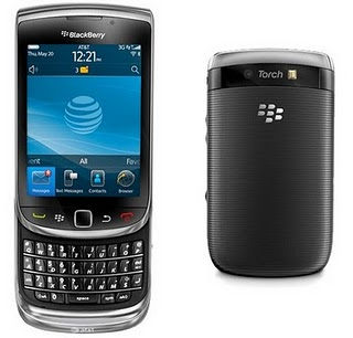 BlackBerry Torch 9800 Spesifikasi dan Harga BB Torch