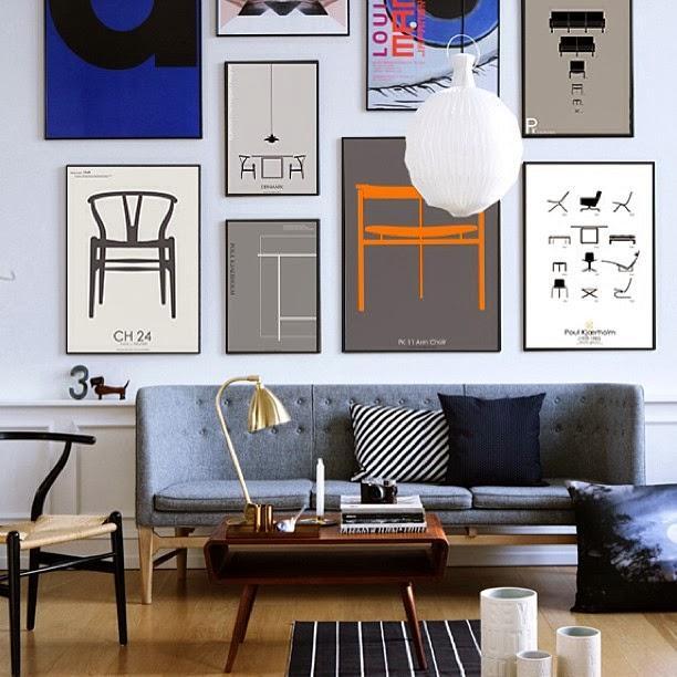 para los apasionados del diseo nrdico y sus iconos los posters de pk copenhaguen son un objeto de deseo para decorar las paredes