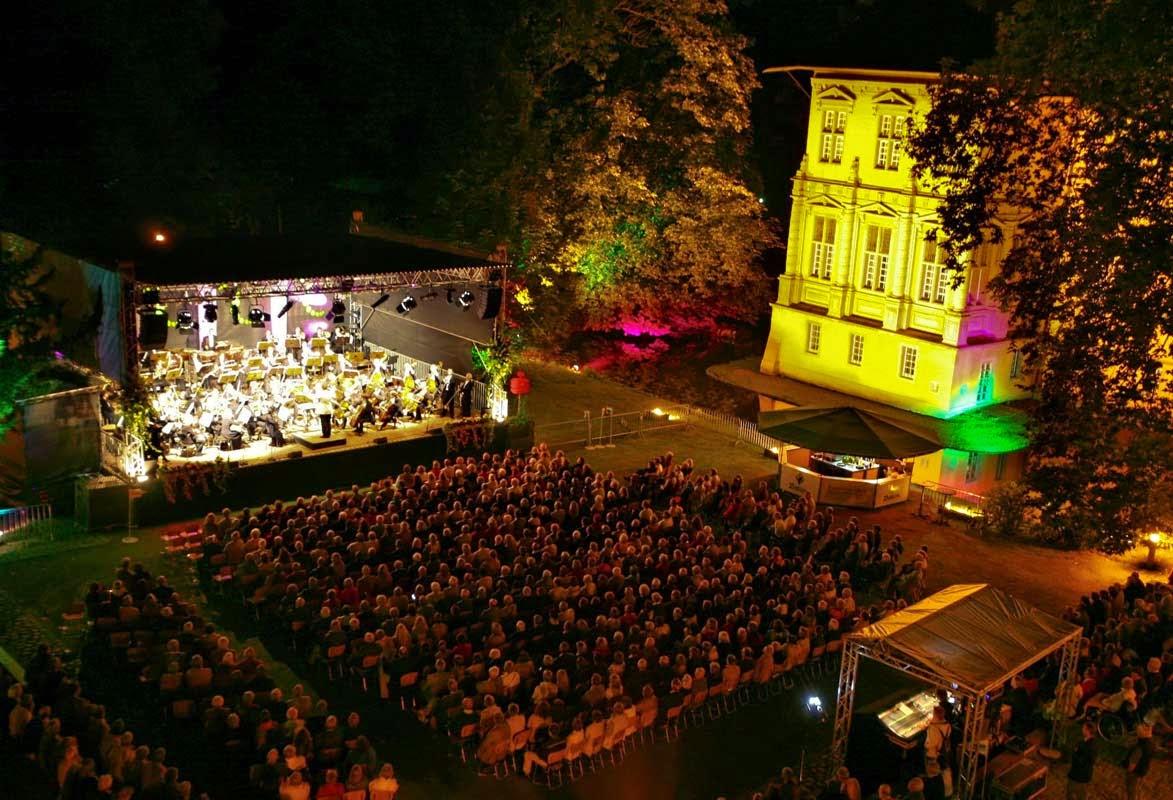 Musik Festival Mönchengladbach, Sommermusik Schloss Rheydt Mönchengladbach