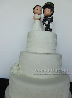 bolos casamento decorados personalizados bragança