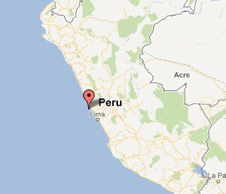 epicentro temblor en lima hoy 23 mayo 2012