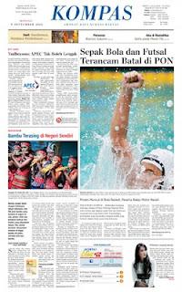 Kompas Epaper Minggu 9 September 2012