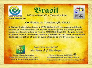 Coordenadora do Núcleo Artforum Brasil