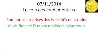 news économiques et actualités boursière 08/11/2014