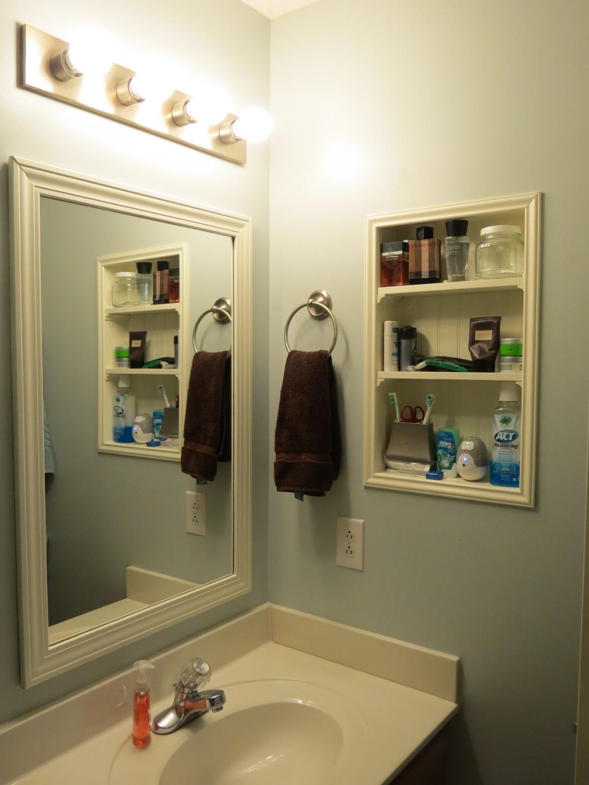 shelves between studs