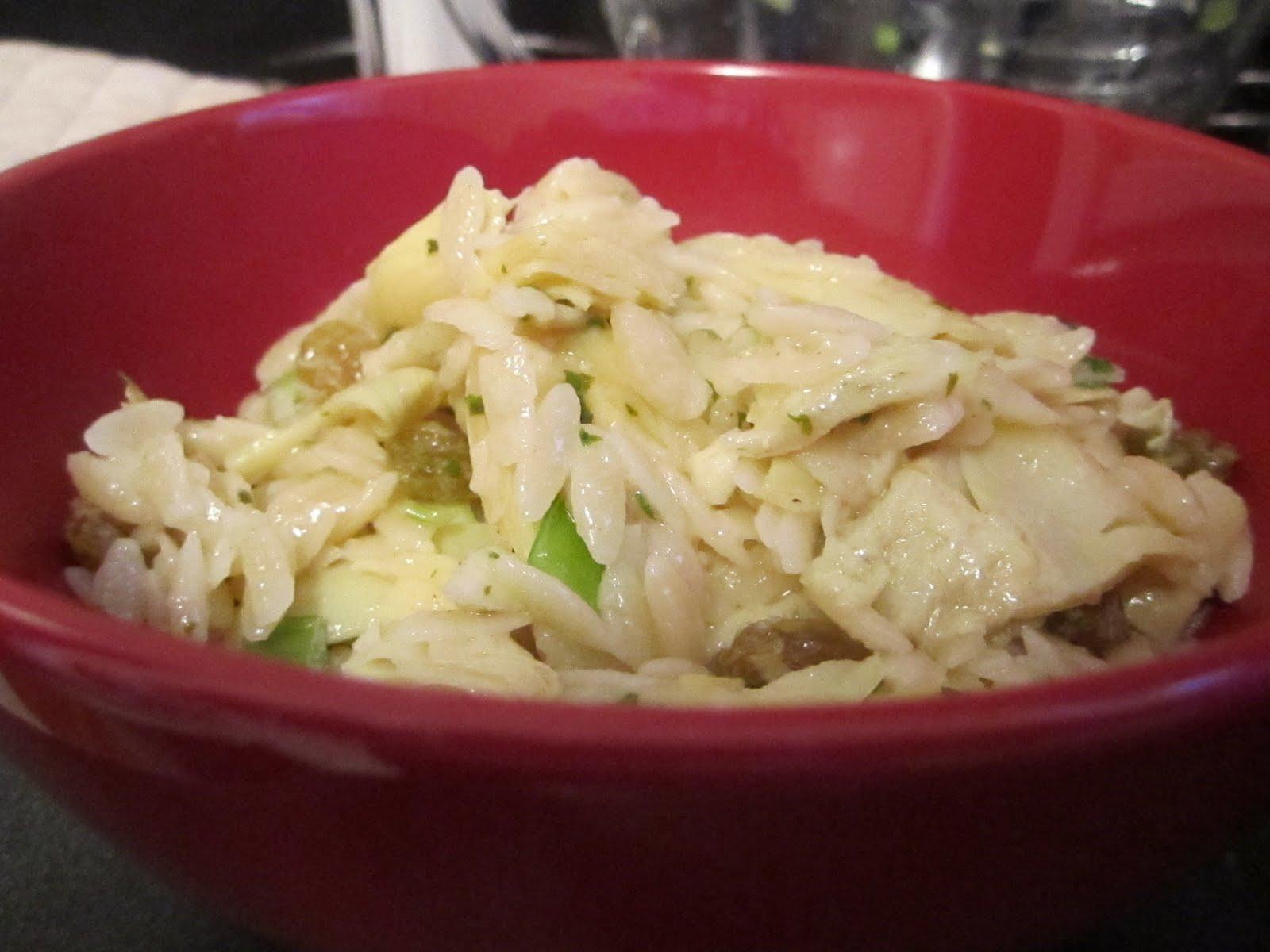 Spaghetti With Artichoke Hearts, Raisins And Pecans Recipe ...
