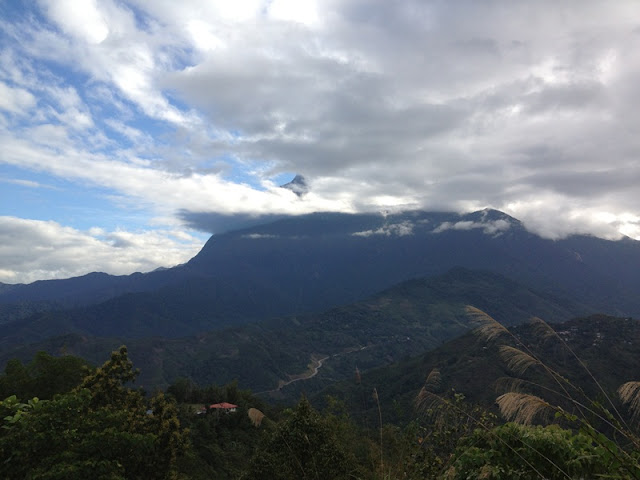 gunung kinabalu menyorok
