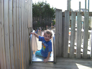 long slide, Landport Adventure Playground