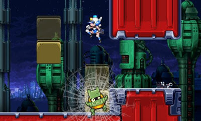 Mighty Switch Force 2 Announced For 3DS