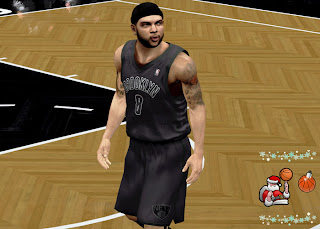 Download NBA 2K13 Brooklyn Nets Christmas Jersey Patch
