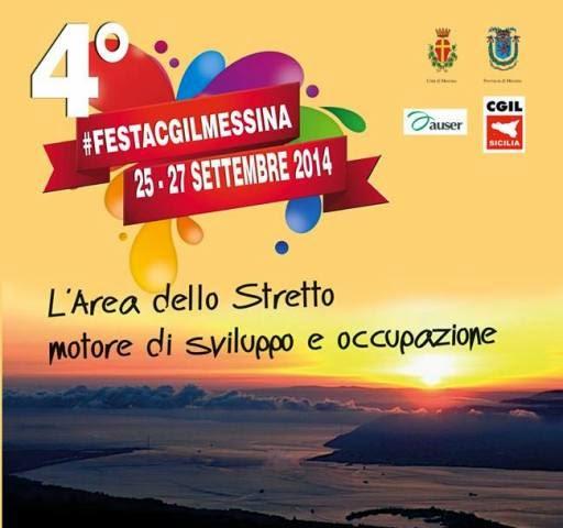 AL VIA LA 4^ FESTA CGIL. SPONSOR IL BIRRIFICIO MESSINA