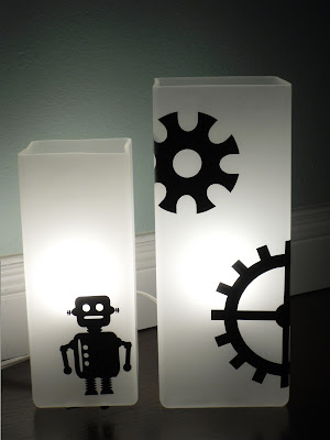 Robot nursery on pinterest space themed nursery outer for Robot baby room decor