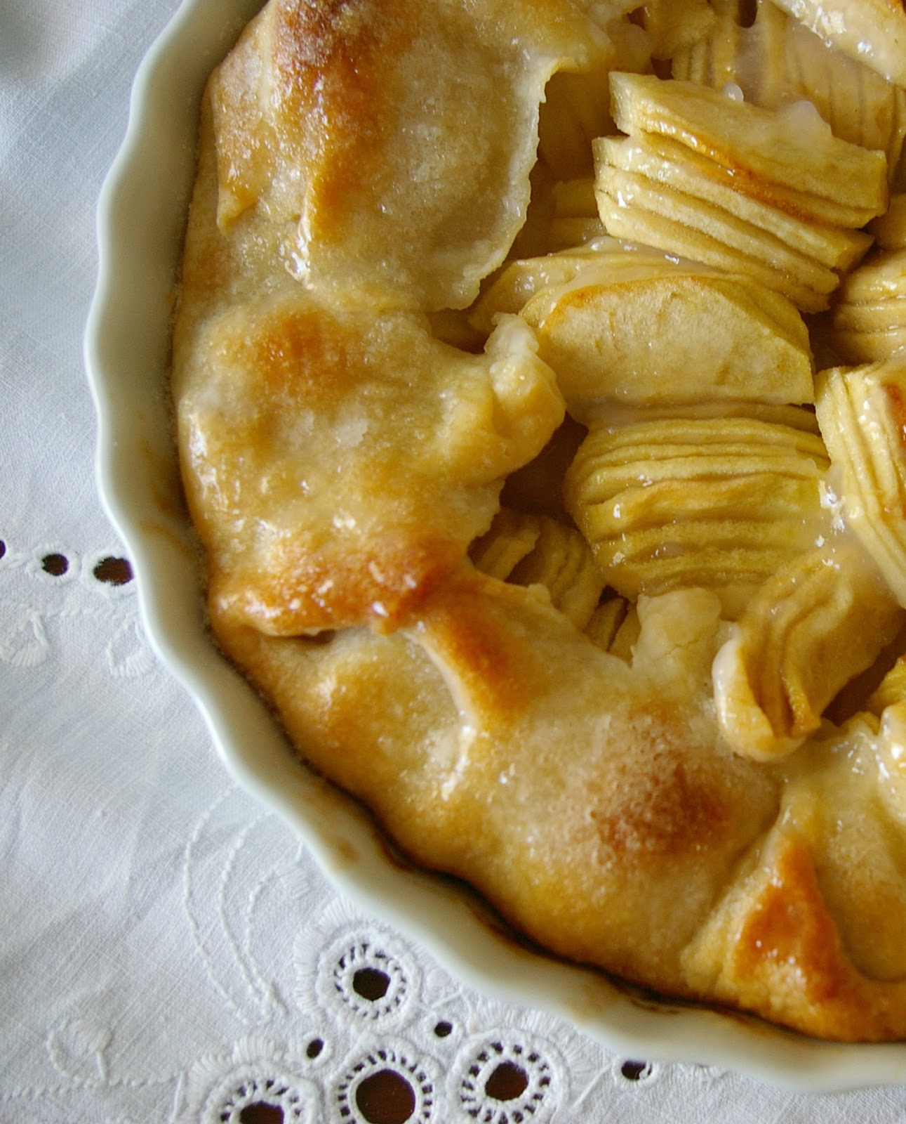 ... in her Element: French Apple Galette AKA easy free form apple tart