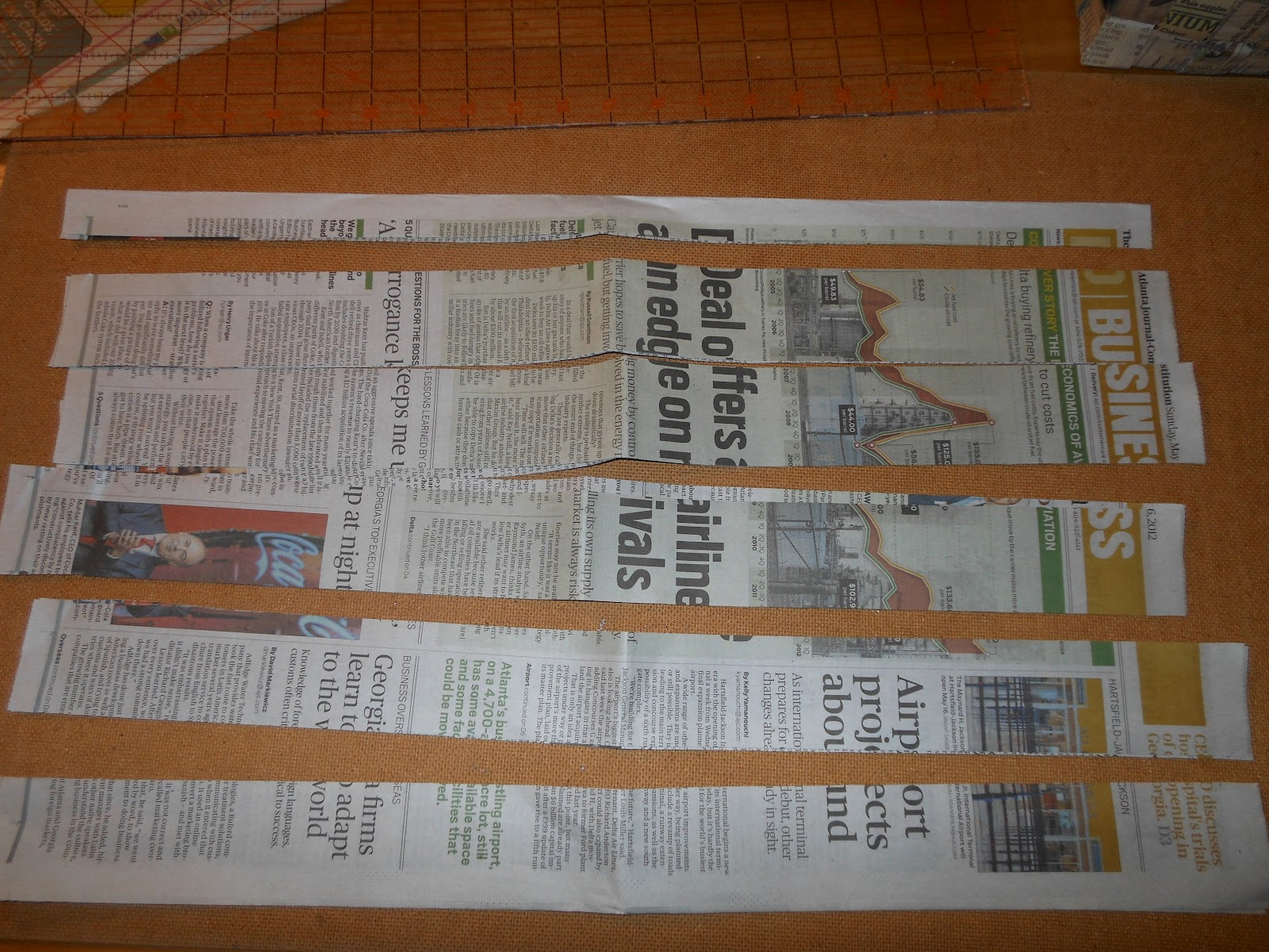 how to make a basket out of newspaper video