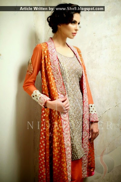Nida Azwer - Formal Collection 2015