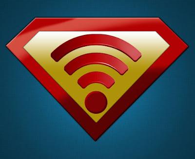 логотип Wi-Fi похож на супермена