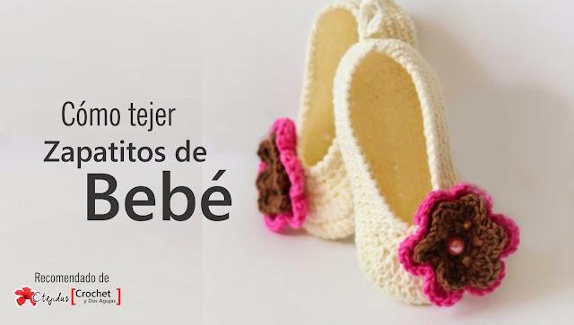 Cómo tejer unos zapatitos de bebé a Crochet
