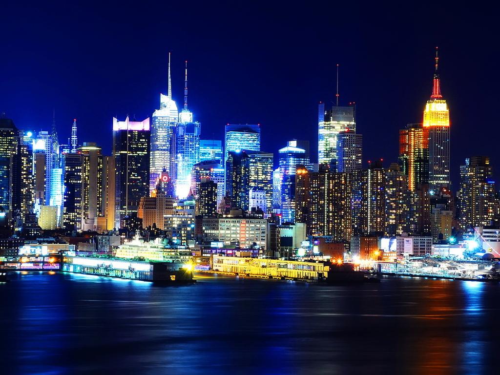 Manhattan New York Hdr Wallpapers Stocks