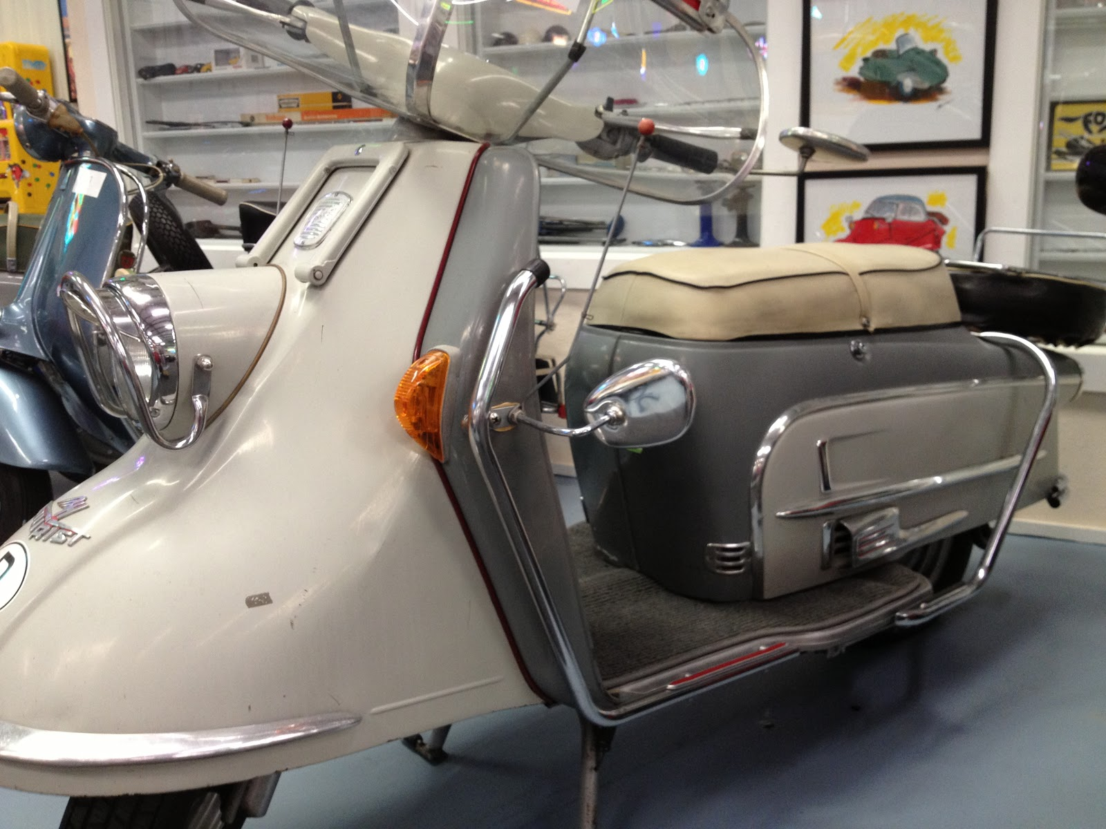 Heinkel Cars, Kabines, and Cabin Scooters