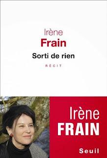 http://www.irenefrain.com/sorti_de_rien_extraits.php