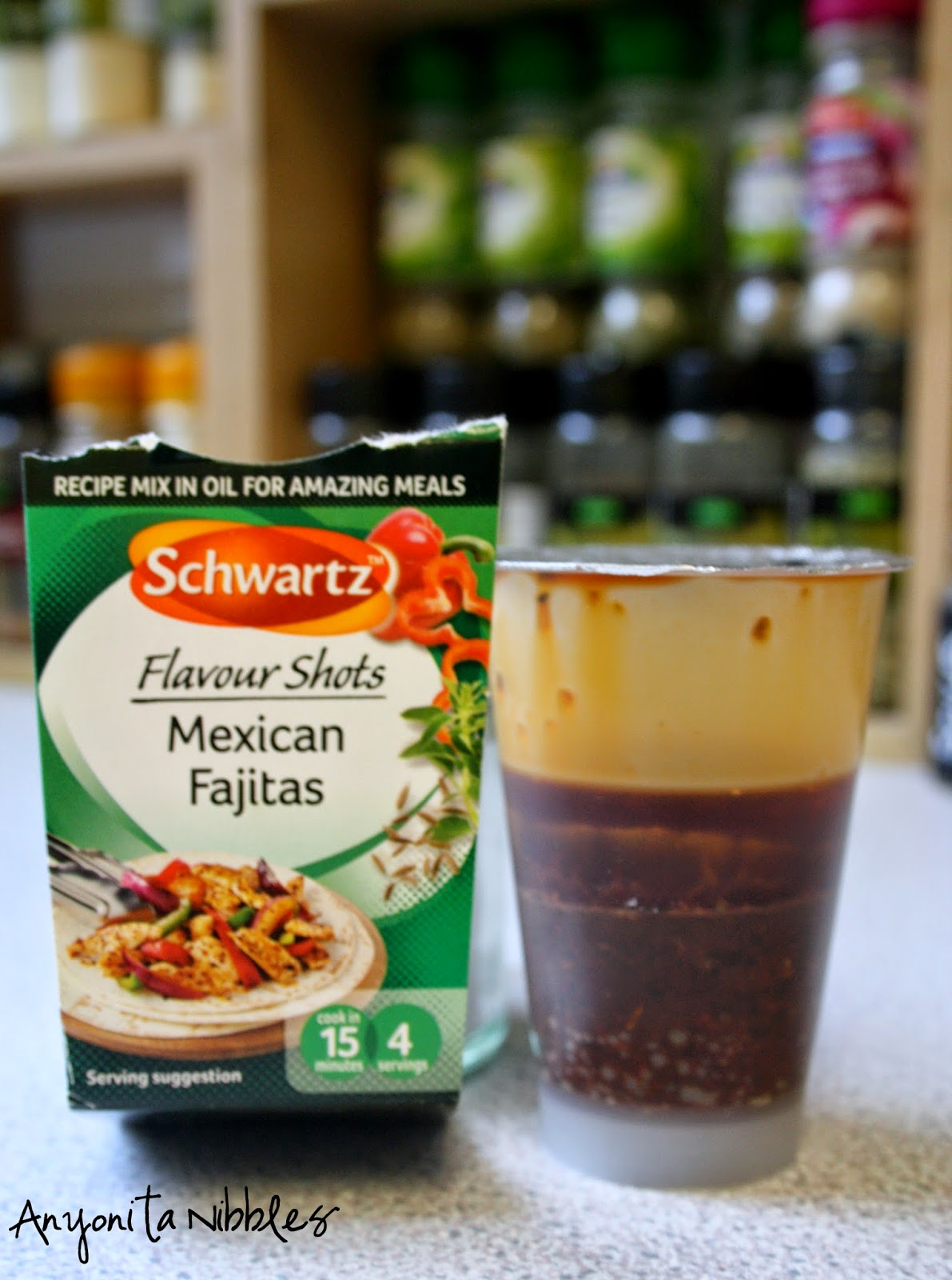 These Flavour Shots contain all the oil and spices you need for an authentic and tasty Mexican dinner